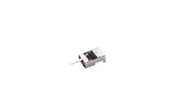 Steckverbinder als Verbindungselement mit Kabel-Klemmfunktion und Lötpin.