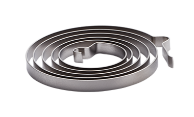 Spiral springs and flat spiral springs