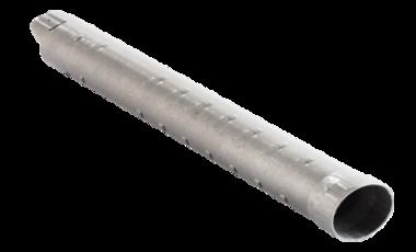 Hülse zur Fixierung einer Mess-Sonde zur Temperaturmessung in einer Metallgießerei