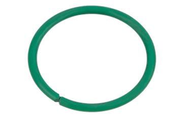 We offer a wide range of surface coatings for clamping rings made of carbon wire or stainless steel.