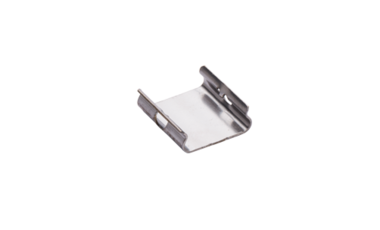 Spring in the shape of an clip holder as an efficient substitution of screwed fastenings.
