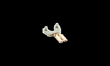 Vorspritzling für Steckerapplikation