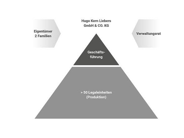 Pyramide Führungsorganisation