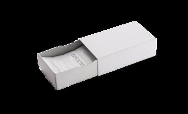 Lanzetten in, nach Kundenwusche gestaltete, Schub- oder Faltbox.