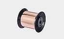 Copper flat wire
