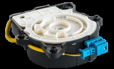 Komfortsysteme bieten über eine elektrisch betätigte Federschaltung optimalen Gurttragekomfort in Oberklassefahrzeugen.
