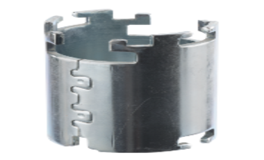 Pole or magnet housing for the magnetically return flow in electric motors