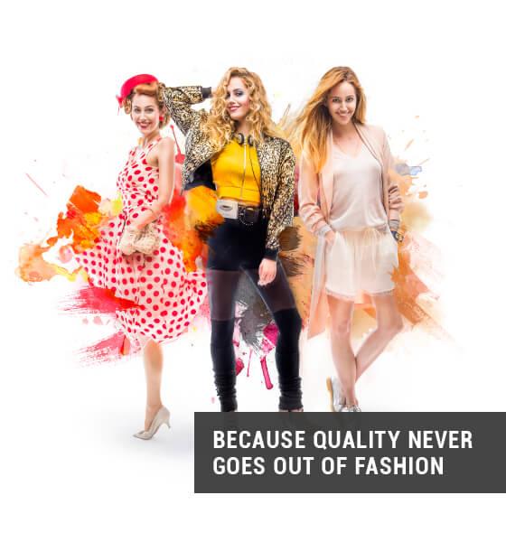 Kreative Leitidee - Weil Qualität nie aus der Mode kommt