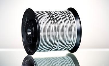 BRUKER-SPALECK HE-Hoch-Effizienz-Solarband-Ribbon Farbe weiß