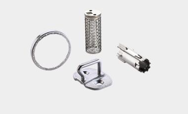 Eine kleine Auswahl an Baugruppen und lasergeschweißten Teilen aus dem Produktbereich Stanz-Biegeteile