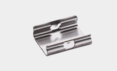 Clip holder - cost efficient substition of screwed festenings.