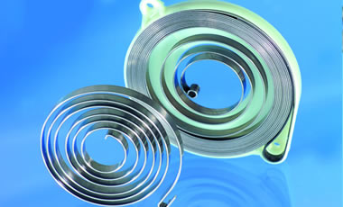 We offer the best flat wire for your starter spring.