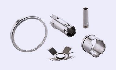 Kleine Auswahl an Baugruppen und lasergeschweißten Teilen im Bereich Stanz-Biegeteile