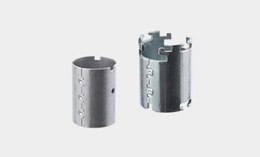 Wir liefern Polgehäuse / Magnetgehäuse / Rückschlussringe nach Kundenwunsch und Anwendungsbedarf