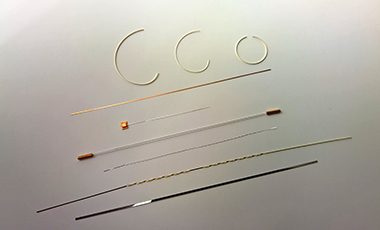 Tension strips and torsion strips for galvanometers