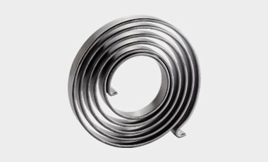 "Spiral springs have a wide range of applications in drives as measurement or vibration sensors. From the ""micro-spring"" used in wristwatches to the cable tensioners used in railway systems, we cover the whole range of possible applications."
