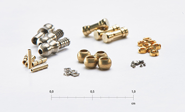 Micro-turned parts
