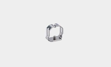 Kettenelement mit eingenietetem Pin für den Maschinenbau