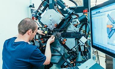Machinery at SCHWEIZER