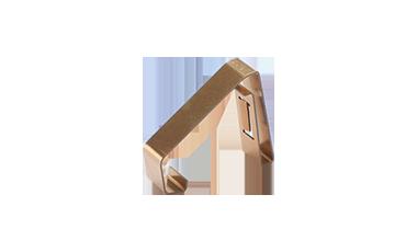 Stamped bent parts