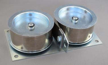 Diese Systeme dienen dem Gewichtsausgleich und werden zum Beispiel in Maschinen (Höhenausgleich) oder in Rollo-Systemen bei Dachfenstern eingesetzt.