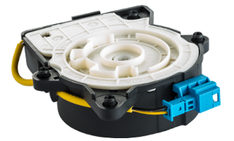Comfort systems use an electrically operated spring circuit to provide optimum belt comfort in luxury vehicles.