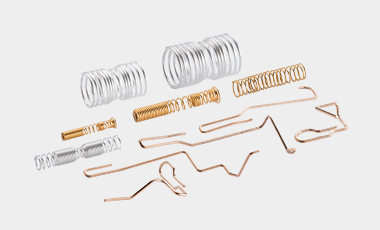 Contact springs and contact elements