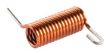 Enameled copper coil