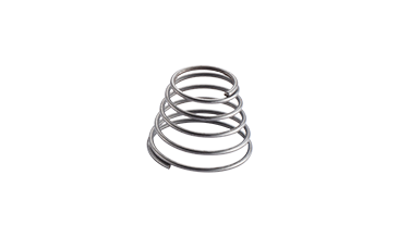 We have a wide range of conical compression springs.