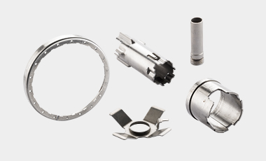 For electric, automotive or other applications –assemblies or laser-welded parts can be widely used