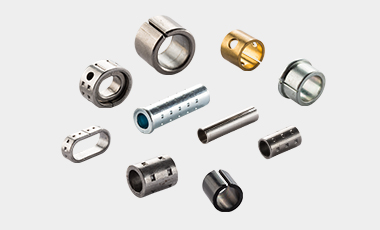A wide variety of bushings, for example used for plastic injection moulding