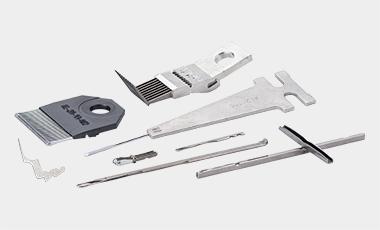 Wir bieten ein umfangreiches Sortiment an Teilen und Komponenten für Raschelmaschinen.