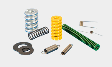 Standard springs in our catalog