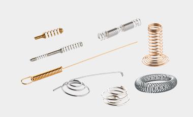 Wir produzieren Kontaktfedern und Ringfedern nach Kundenwunsch
