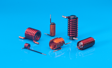 We supply enameled copper coils up to 3,5 mm - also with a ferrite core.