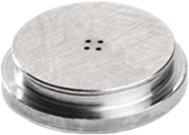 Das Stanzen kleiner Löcher (mit Durchmessern von 100-1.000 µm, Toleranzen < 1 µm ) mit großen Aspektverhältnissen stellt höchste Anforderungen im Hinblick auf Material, Werkzeug und Fertigungsprozess.