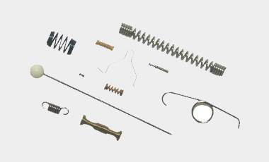 micro springs for individual applications