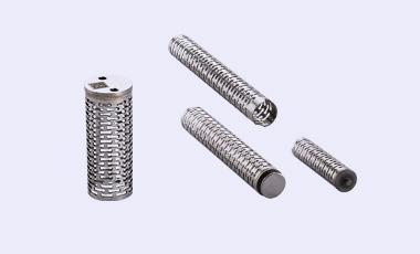 Diverse Rohrfedern, entwickelt und seriengefertigt nach individuellem Kundenwusch.