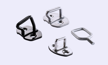 Various striker - fixation for car doors, engine hoods and tailgates in automotive industriy.