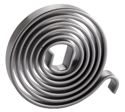 Spiral springs for seating systems