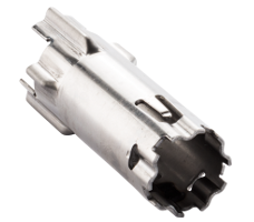 Resetter, used in a truck brake system