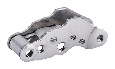 Link lever - as an assembly produced fitting element