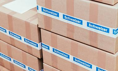 Verpackungen bei SCHWEIZER